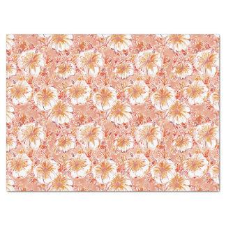 KOMBUCHA-CHA Pfirsich-tropisches Hibiskus-Muster Seidenpapier