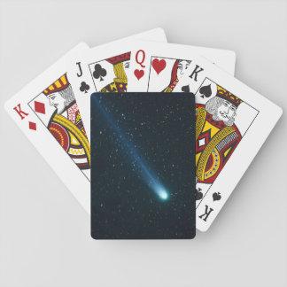 Komet im nächtlichen Himmel Spielkarten
