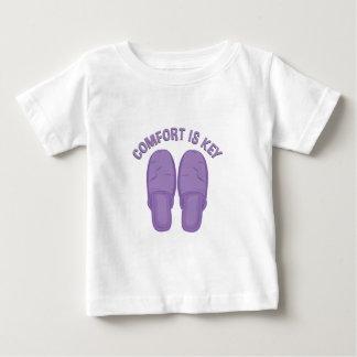 Komfort ist Schlüssel Baby T-shirt