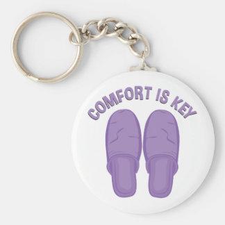 Komfort ist Schlüssel Schlüsselanhänger