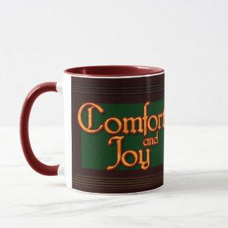 Komfort-und Freude-WeihnachtsTasse Tasse