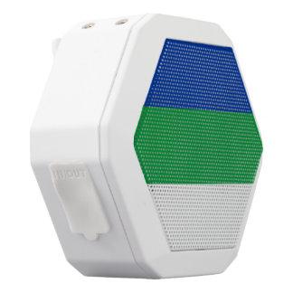 Komi kennzeichnen weiße bluetooth lautsprecher
