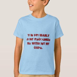 Komische T-Shirts im verschiedenen Sprichwort