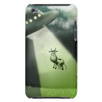 Komischer UFO-Kuh-Abduktions-Fall iPod Touch Hüllen