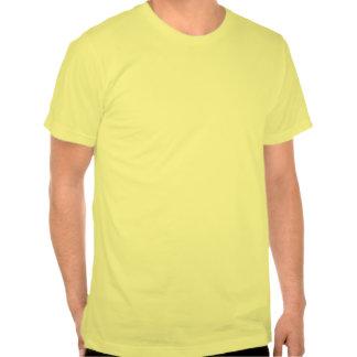 Komma-Chamäleon-Zitronen-amerikanisches Kleidert-s T-shirt