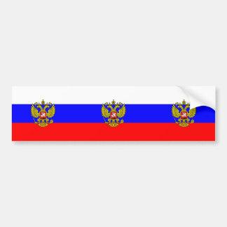 Kommandant - herein - Leiter von Russland, Autoaufkleber
