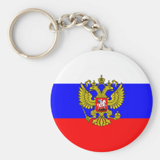 Kommandant - herein - Leiter von Russland, Standard Runder Schlüsselanhänger