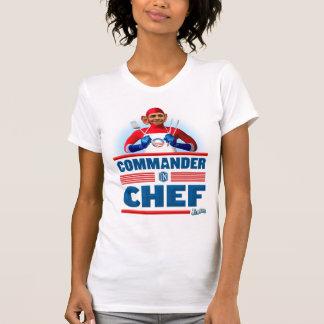 Kommandant im Koch T-Shirt