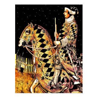 """Kommandant zu Pferd "" Postkarten"