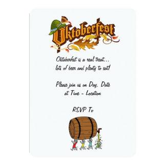 Kommen man kommen alle Oktoberfest Party 12,7 X 17,8 Cm Einladungskarte