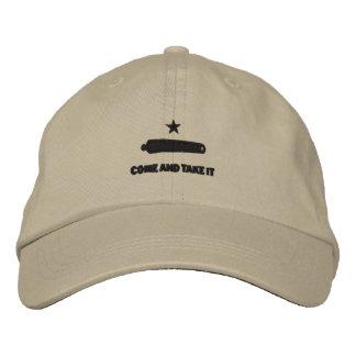 Kommen Sie es nehmen stickte Hut Bestickte Baseballmützen