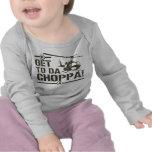 Kommen Sie nach DA Vintager Choppa T-Shirts