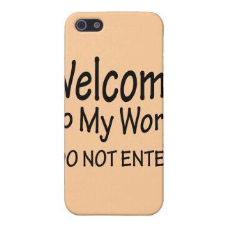 Kommen Sie nicht herein iPhone 5 Cover