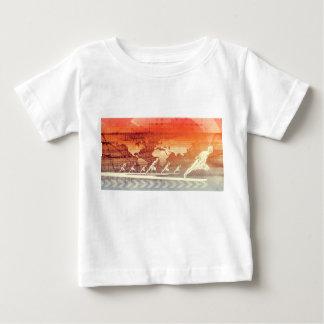 Kommen und die Weise vorwärts als erfolgreiches Baby T-shirt