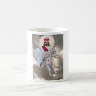 Kommenden Jesus Christus zweiten Kaffeetasse