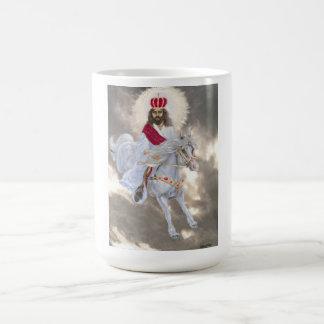 Kommender Jesus Christus zweiter Kaffeetasse