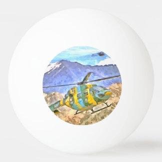 Kommender und gehender Hubschrauber Ping-Pong Ball