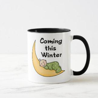 Kommendes Baby dieser Winter Tasse