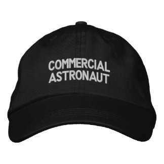 Kommerzieller Astronaut Bestickte Baseballkappe