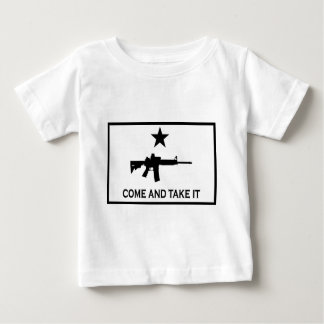 Kommt es AR-15 nehmen Baby T-shirt