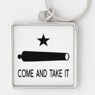 Kommt es Flagge ~ Texas nehmen Schlüsselanhänger