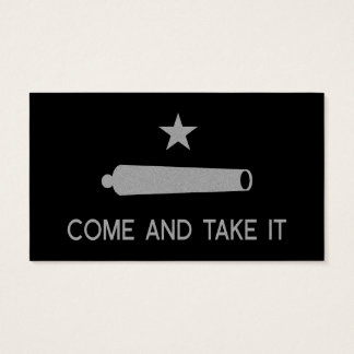 Kommt es Flagge ~ Texas nehmen Visitenkarte
