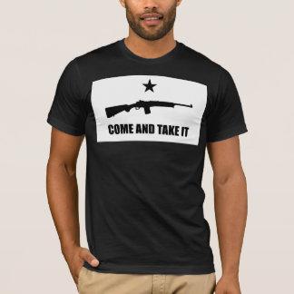 KOMMT ES - Gewehr-Nr. 1 der Ranch-NEHMEN Mini-14 T-Shirt
