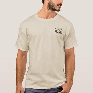 Kommt es (hintere) DOF-Miliz (vordere Tasche) T-Shirt