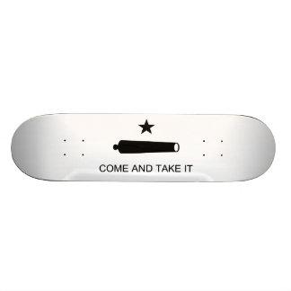 Kommt es Texas-Flaggen-Kampf von Gonzales nehmen 19,7 Cm Skateboard Deck