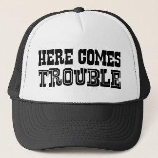 Kommt hier Problem Truckerkappe