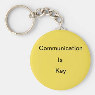 Kommunikation ist… schlüsselanhänger