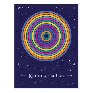 Kommunikation Postkarte