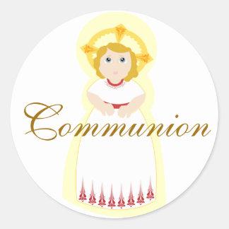 Kommunion Aufkleber-Fertigen besonders an