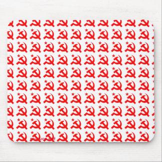Kommunismuszeichen des Hammers Mousepad