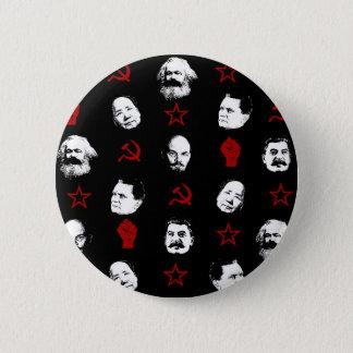 Kommunistische Führer Runder Button 5,7 Cm