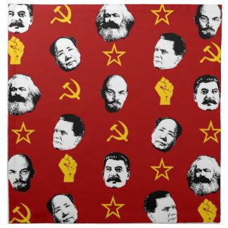 Kommunistische Führer Serviette