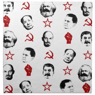 Kommunistische Führer Stoffserviette