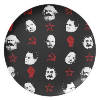 Kommunistische Führer Teller