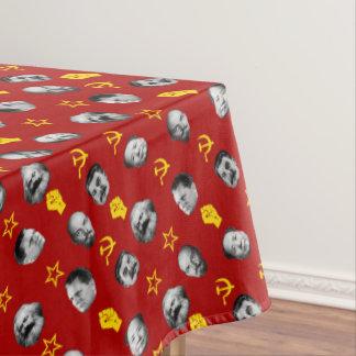 Kommunistische Führer Tischdecke