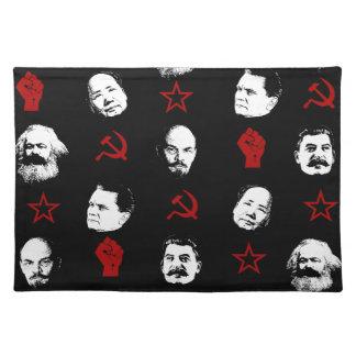 Kommunistische Führer Tischset