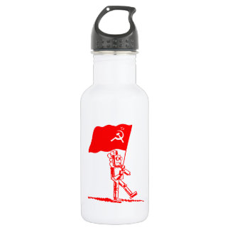 Kommunistischer Roboter Trinkflaschen