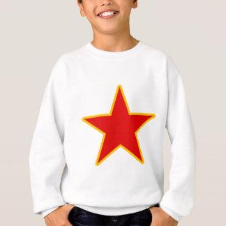 Kommunistischer roter Stern Sweatshirt