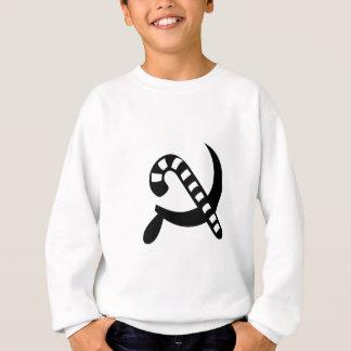 Kommunistischer Stock Sweatshirt