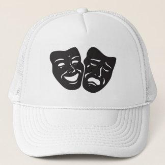 Komödien-Tragödie-Drama-Theater-Masken Truckerkappe