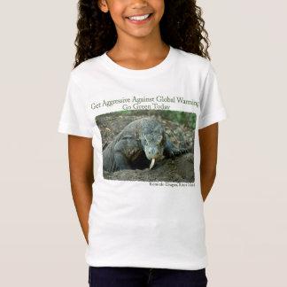 Komodo Drache erhalten aggressives T-Shirt