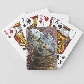 Komodo Drache-Karten Spielkarten