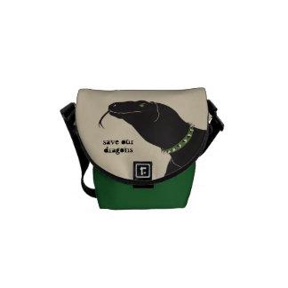 Komodo Drache-Minibote-Tasche Kurier Tasche