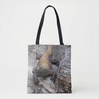 Komodo Drache Tasche