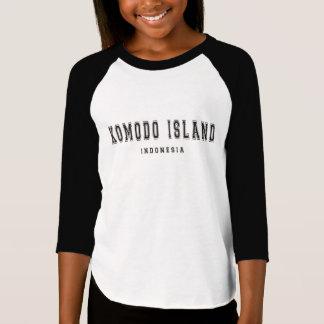Komodo Insel Indonesien T-Shirt