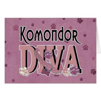 Komondor DIVA Karte